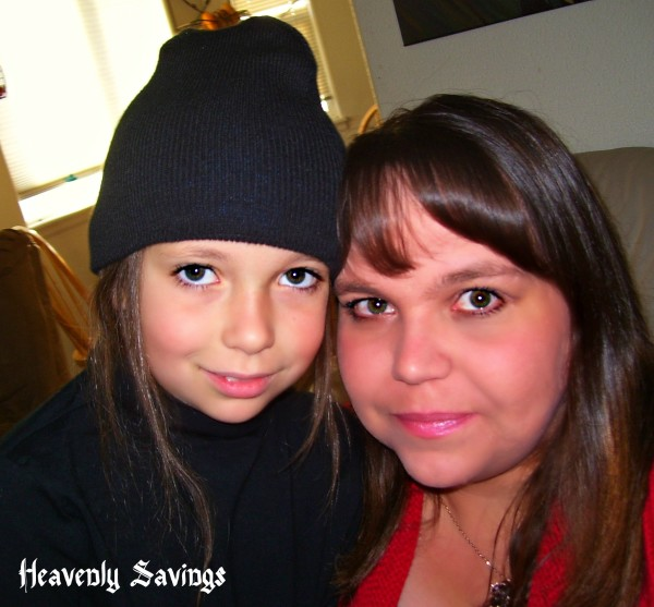 My Daughter and I before the NickMom party!