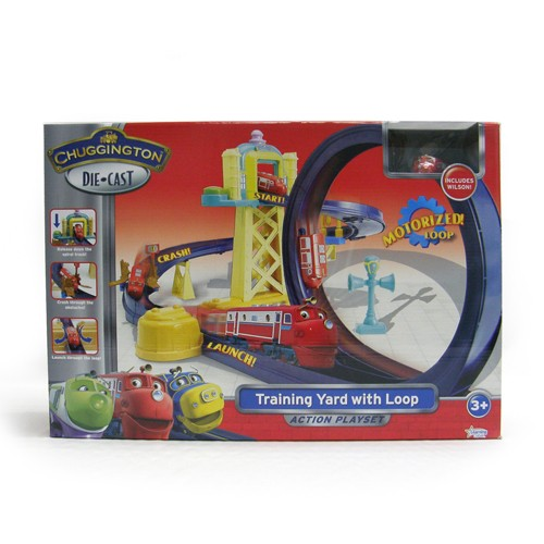 Chuggington Training Yards Set for Diecast Line  $37.60 after 20% off code