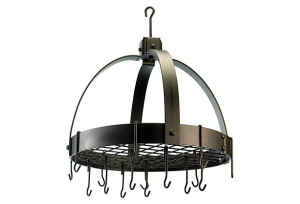 16-Hook Dome Pot Rack w/ Grid, Bronze $89 (Reg. $143)