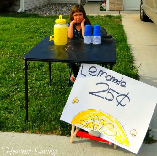 Lemonade Stand Start Up Kit