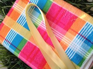 No Sew Dish Towel Tote Bag