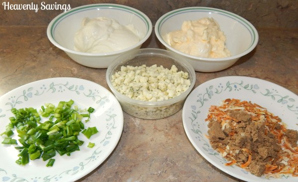 French Onion Blue Cheese Dip Recipe #ad #whatsgrillin #cbias