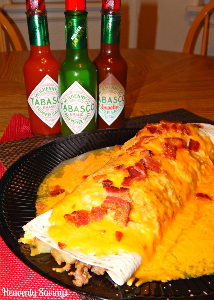 Meat & Potatoes Breakfast Burrito