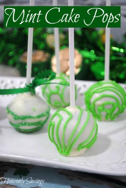 Mint Cake Pops